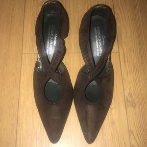 Donald J. Pliner Couture heels in brown size 6M